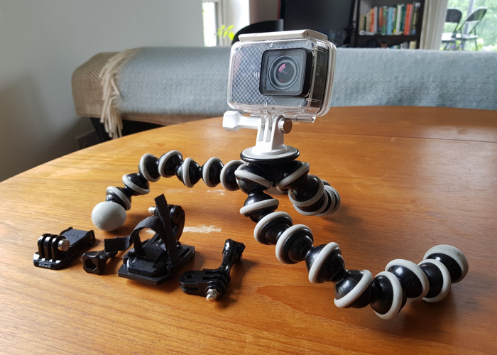 YI 4K Plus 4K/60fps Action Camera and Gorillapod - 1