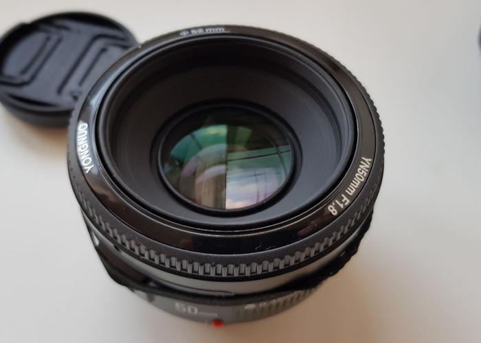 Yongnuo 50mm f1.8 Prime Lens - 1