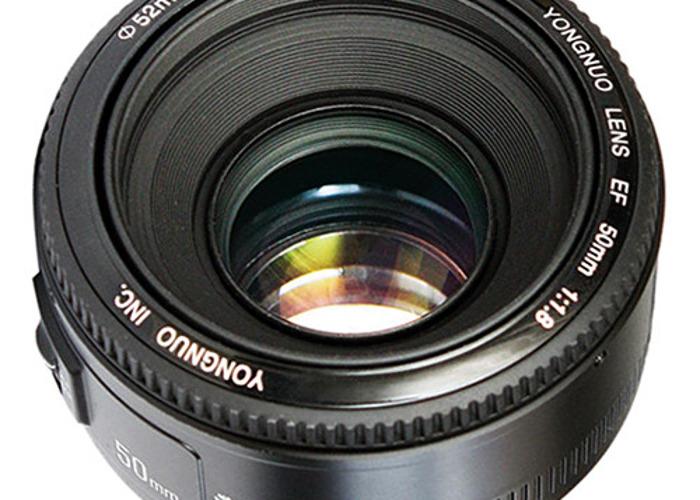 yongnuo yn ef 50mm f/1.8 af lens - 2
