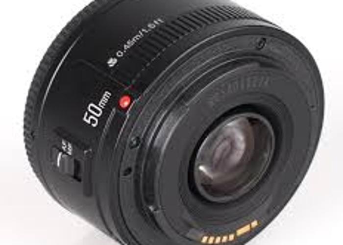 yongnuo yn ef 50mm f/1.8 af lens - 1