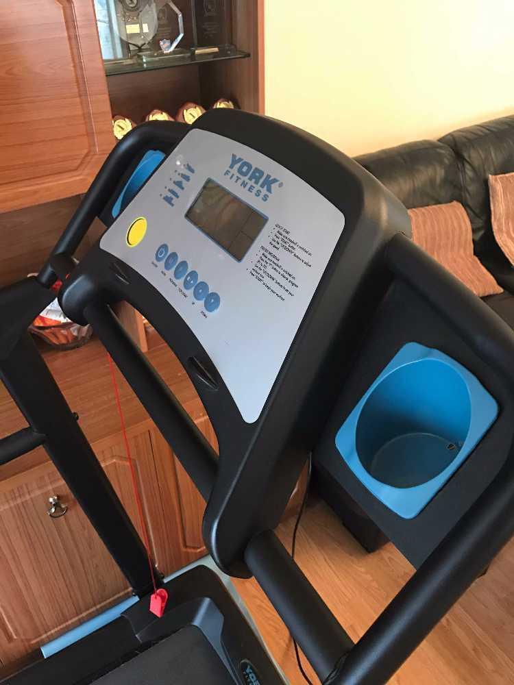 York Fitness Treadmill - 1