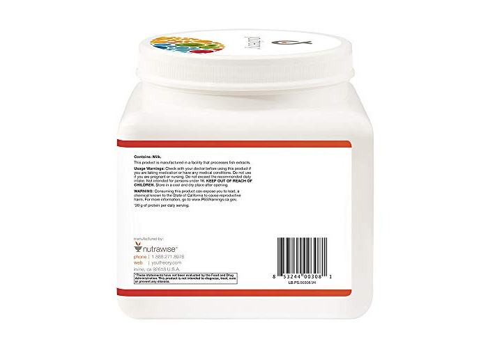 Youtheory Collagen Protein Shake Vanilla, 24 oz - 2