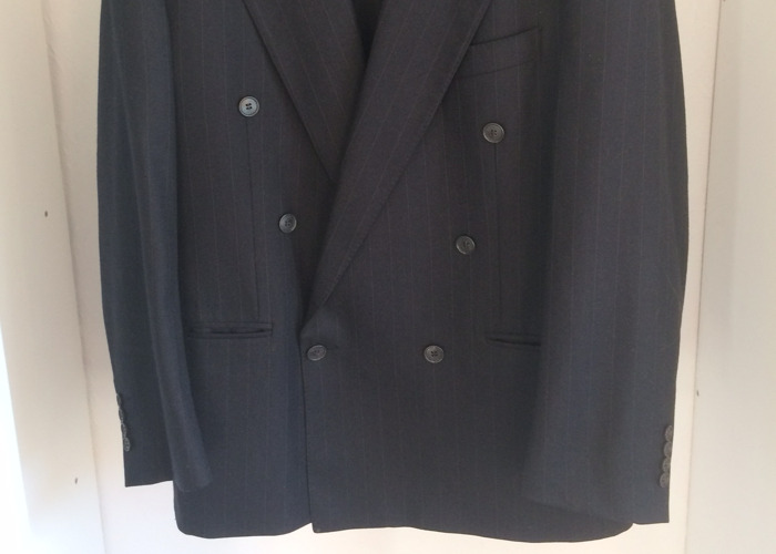 YSL Double Breasted Peak Lapel Suit - 2