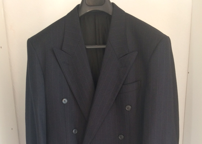 YSL Double Breasted Peak Lapel Suit - 1