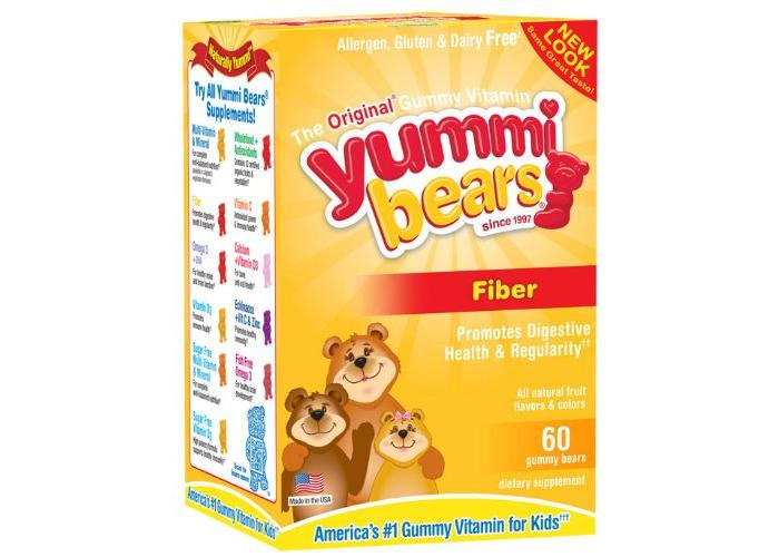 Yummi Bears Fiber 60 bears - 1