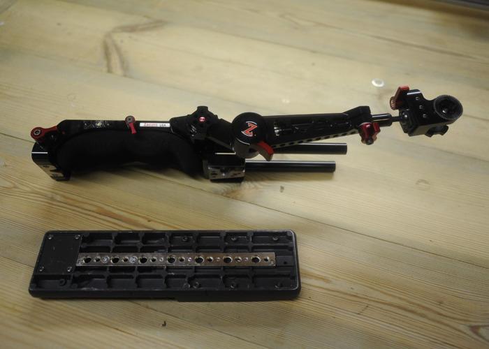 Zacuto VCT Pro Baseplate, Trigger grip + Sony VCT  - 1