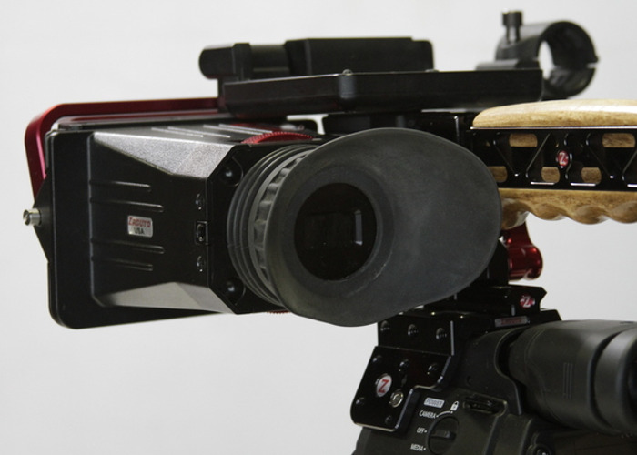 Zacuto Z Finder for Canon C-300 Optical viewfinder - 1