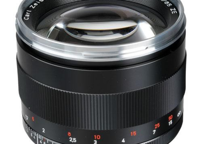ZEISS  85mm f/1.4 ZE Planar T* Manual Focus Lens for Canon - 1