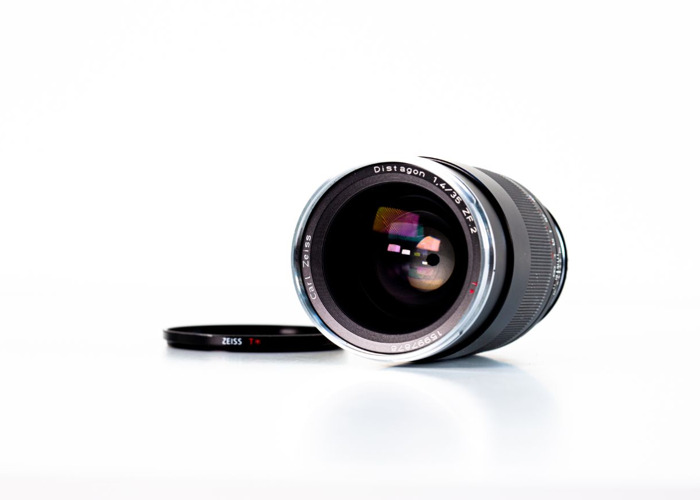 Zeiss 35mm *T F1.4 Distagon ZF Lens - 1