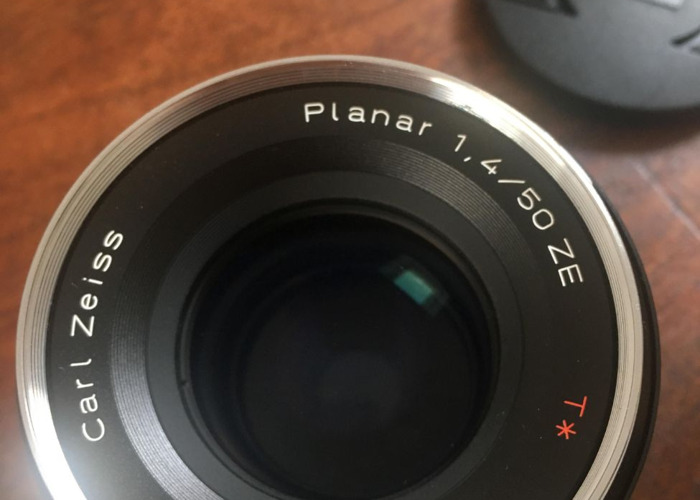 Zeiss 50mm 1.4 ZE Lens (for canon) - 1