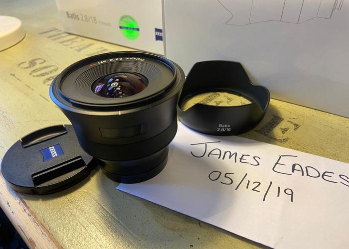 Zeiss Batis 18mm f/2.8 E-Mount - 1