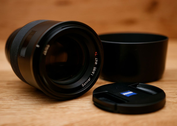 ZEISS Batis 85mm f/1.8 Lens for Sony E Mount - 1