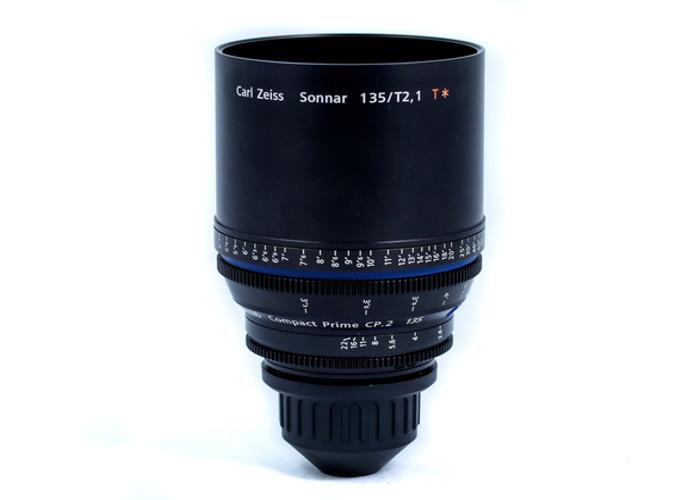 Zeiss CP.2 135mm T2.1 Lens - 1