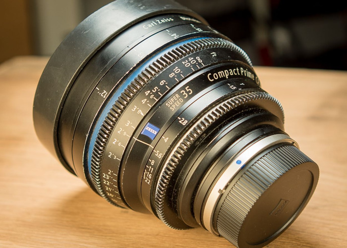 Zeiss CP2 35mm t1.5 (Canon EF or PL mount) - 1