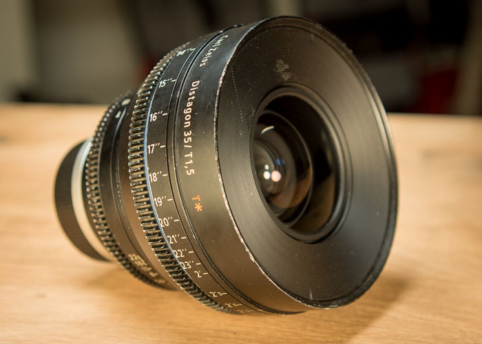Zeiss CP2 35mm t1.5 (Canon EF or PL mount) - 2