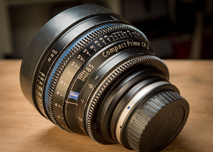 Zeiss CP2 85mm t1.5 Prime Lens (Canon EF or PL mount) - 2