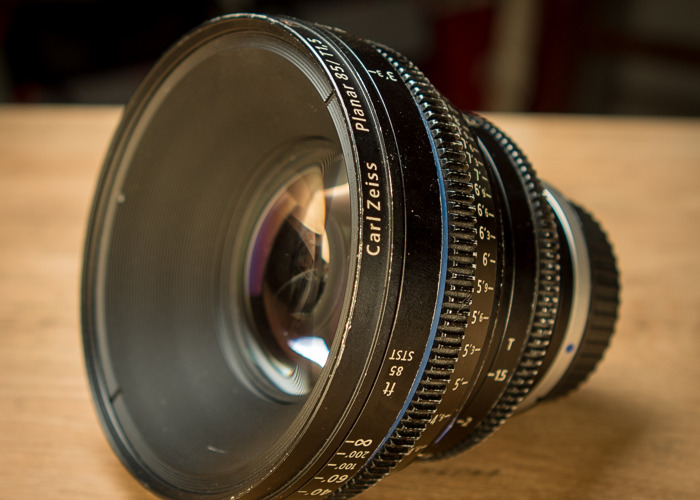 Zeiss CP2 85mm t1.5 Prime Lens (Canon EF or PL mount) - 1