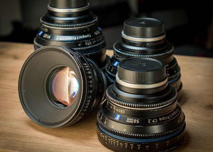 Zeiss CP2 Lens Set (Canon EF or PL mounts) - 1