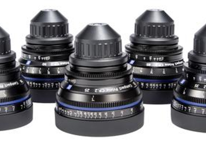 Zeiss CP.2 primes 5 lens set EF or PL mount - 2