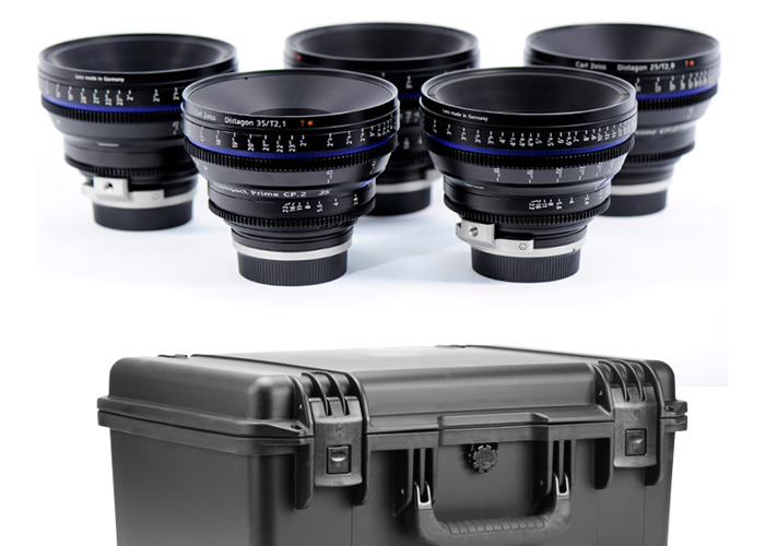 Zeiss CP.2 primes 5 lens set EF or PL mount - 1