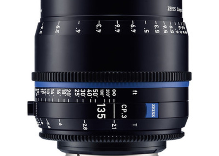 Zeiss CP.3 135mm T2.1 Compact Prime Lens - 1