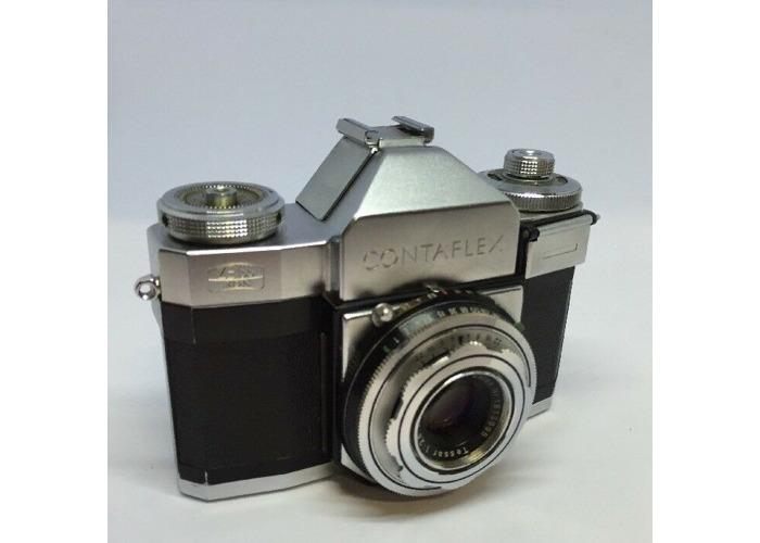 Zeiss Ikon Contaflex I 1 (861/24) Near Mint TESTED + Case SLR  GREAT #16 - 1