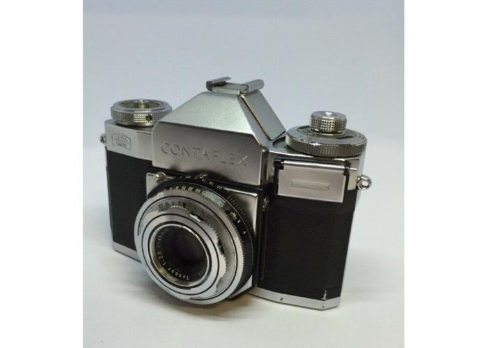 Zeiss Ikon Contaflex I 1 (861/24) Near Mint TESTED + Case SLR  GREAT #16 - 2