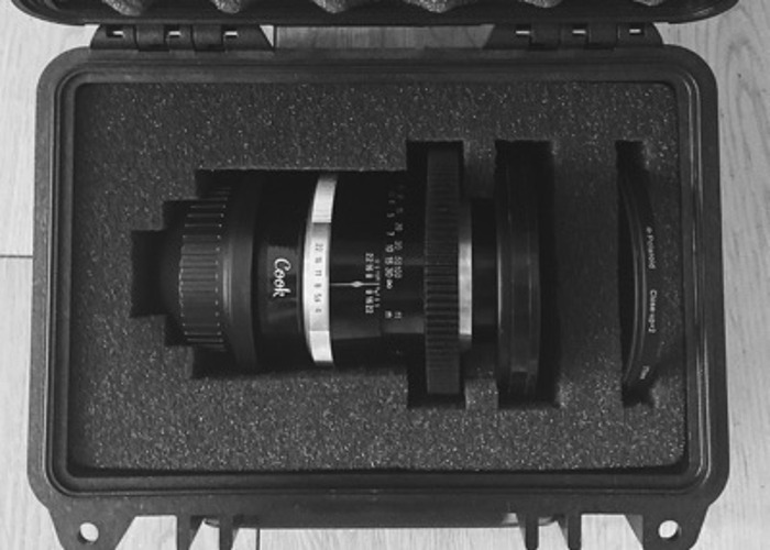 Zeiss 135mm PL Lens (w/ Diopter for Macro) - 2