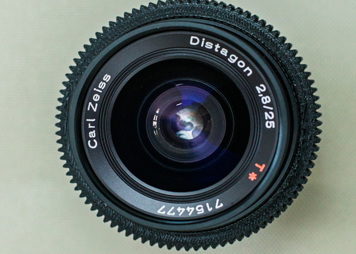 Rent Zeiss Lenses x 3 - 25mm / 35mm / 50mm or choose your own focal length  in London