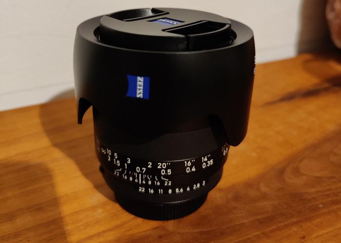 Zeiss Milvus 35mm f/2 ZF.2, Nikon Fit - 1