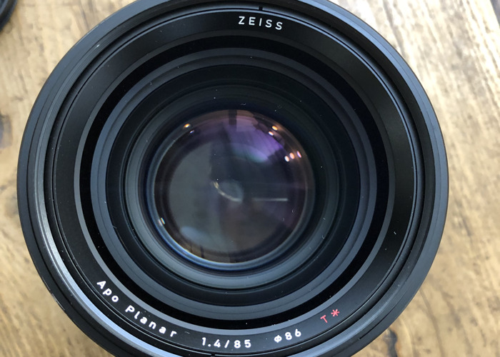 Zeiss Otus 85 Canon EF (or Sony E with included Metabones)  - 2