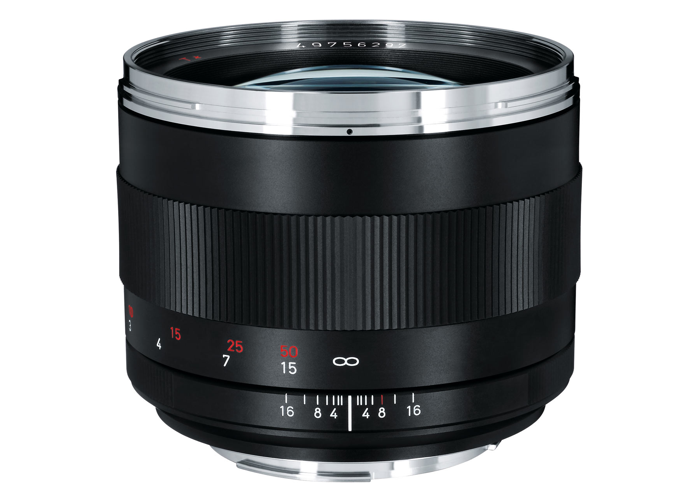 Zeiss Planar 85mm F1.4 ZE Prime Lens for Canon EF Mount - 1