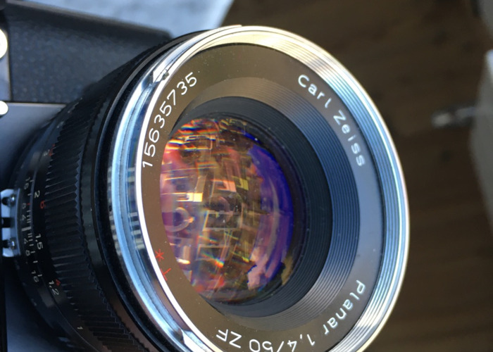 Zeiss Planar T* 50mm f1.4 ZF - For Nikon F Mount - 1