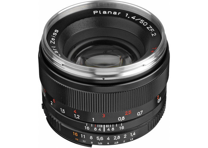 ZEISS Planar T* 50mm f/1.4 ZF.2 Lens for Nikon F - 1