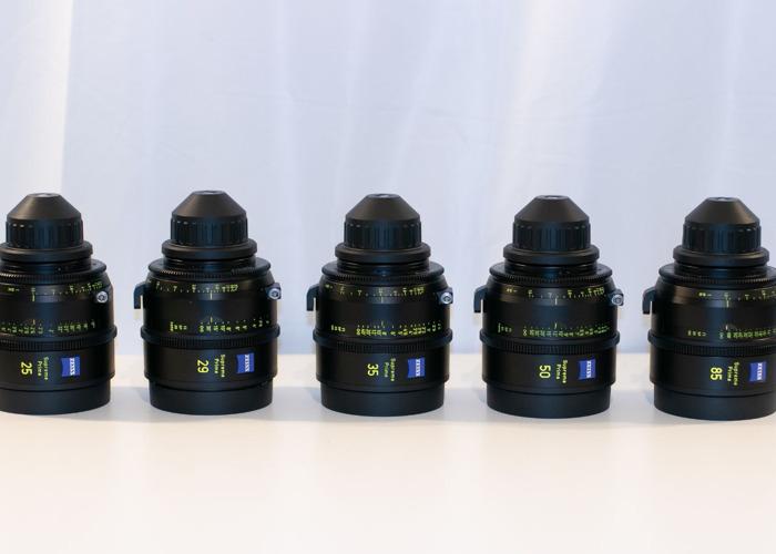 Zeiss Supreme Primes 5 Lens Set - 1