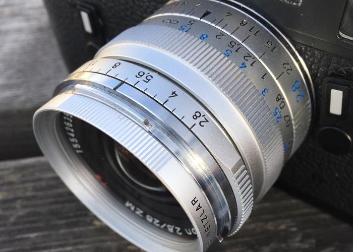 Zeiss ZM Biogon 28mm f2.8 Lens M-Mount - 1
