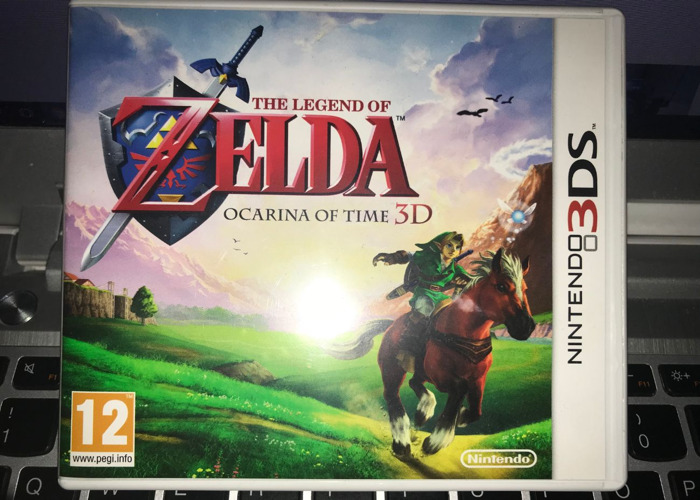 Zelda Ocarina of Time - 3DS - 1