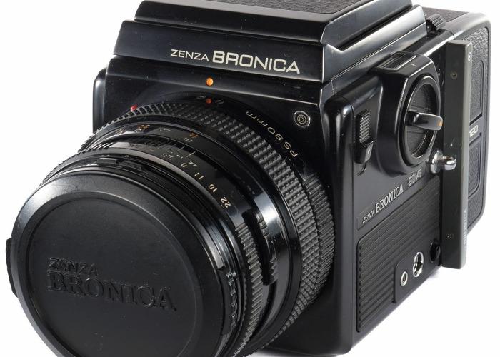 Professional Medium Format – Bronica SQ-Ai 6x6 with Zenzanon PS 80 + Waist Finder - 1