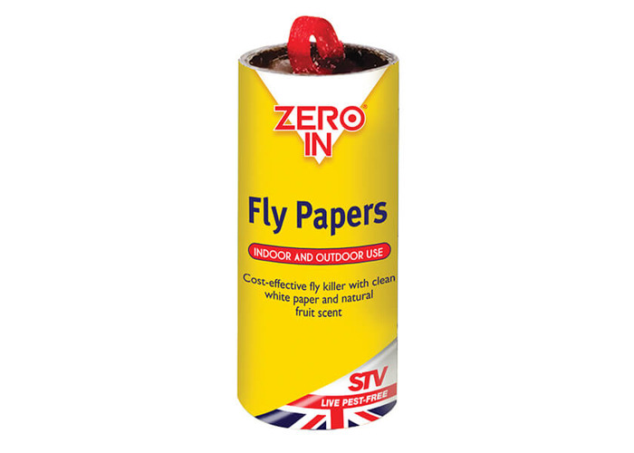 Zero In Fly Papers Pack Of 8 - 1