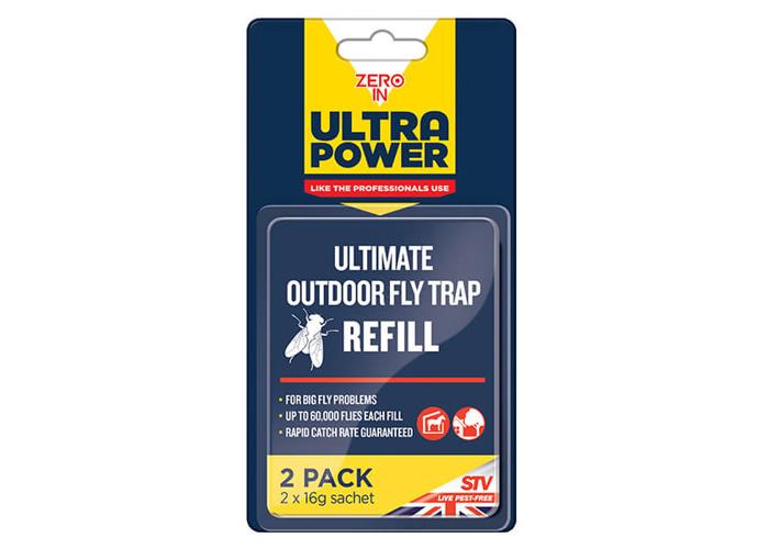 Zero In Ultra Power Ultimate Outdoor Fly Trap Bait Refill - 1