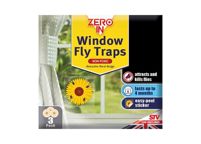 Zero In Window Fly Sticker Pack Of 3 - 1