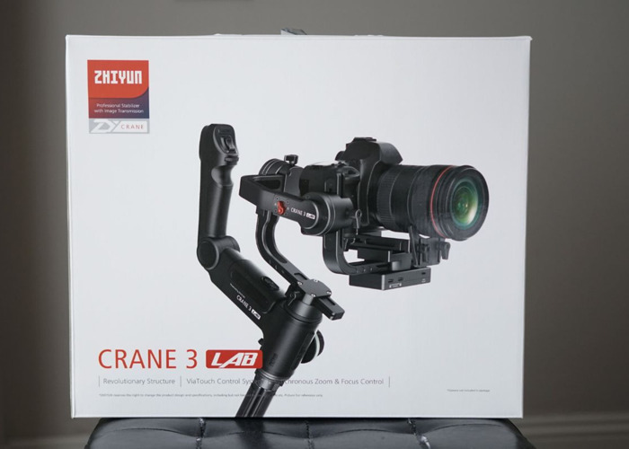 Zhiyun Crane 3 Lab Gimbal handheld for Sony FS5, Canon DX1, Canon C200, Gh5, a7s II and more (DJI Ronin S big brother) - 2