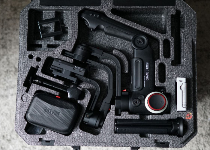 Zhiyun Crane 3 Lab Gimbal handheld for Sony FS5, Canon DX1, Canon C200, Gh5, a7s II and more (DJI Ronin S big brother) - 1