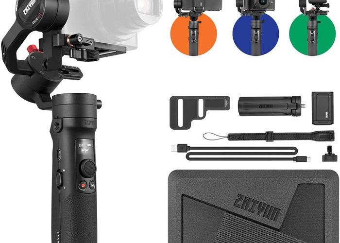 ZHIYUN Crane-M2 Handheld 3-Axis Gimbal Stabilizer - 1