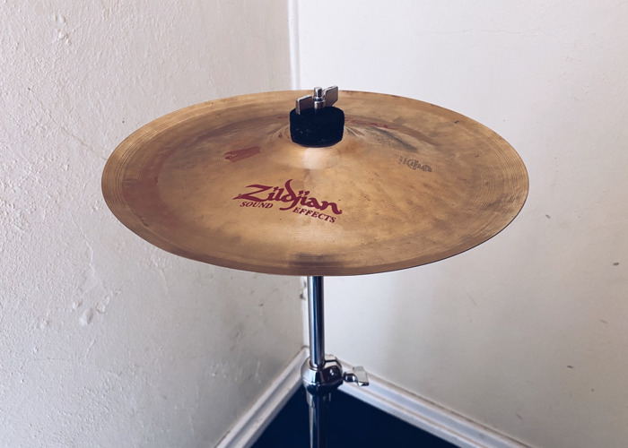 "Zildjian 12"" Oriental China Trash Cymbal - 1"