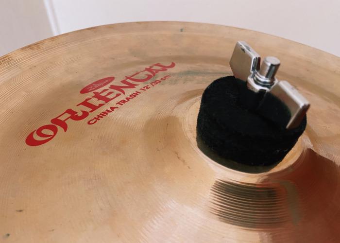 "Zildjian 12"" Oriental China Trash Cymbal - 2"