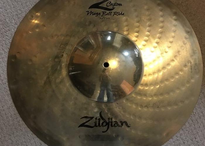 "Zildjian 21"" Megabell Ride Cymbal - 1"