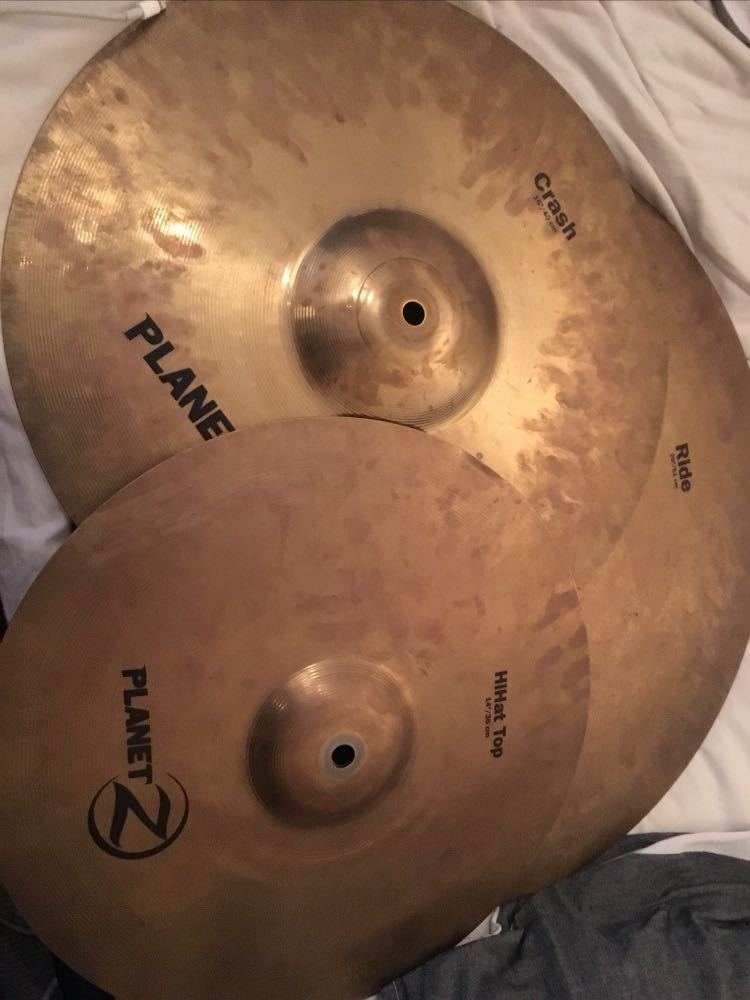 Zildjian Planet Z Drum Cymbals - 1