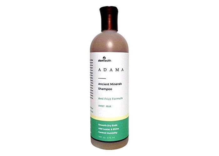 Zion Health Adama Ancient Minerals Anti-Frizz Shampoo Sweet Pear 16 Fluid Ounce - 1