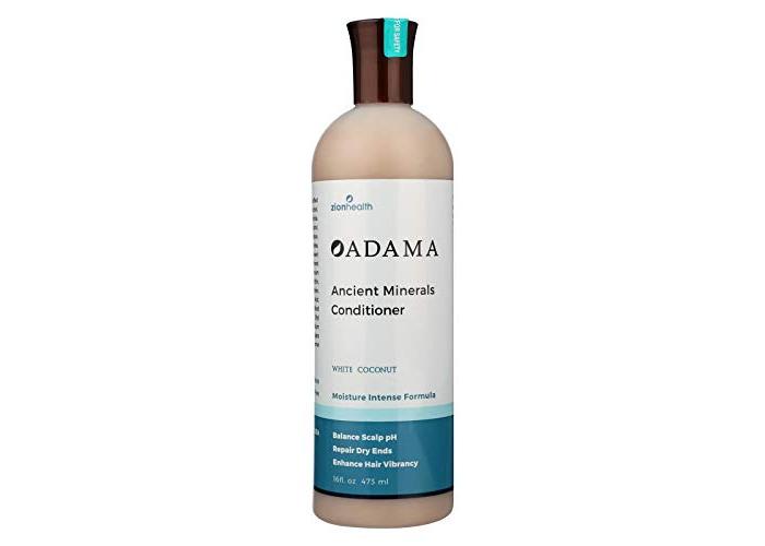 Zion Health, Adama, Ancient Minerals Conditioner, White Coconut, 16 fl oz (473 ml) - 1